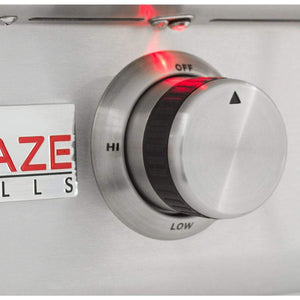 "Blaze LTE 30"" Built-In Gas Griddle With Lights"