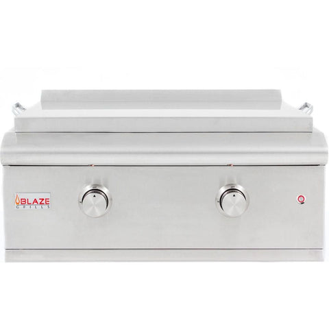 "Image of Blaze LTE 30"" Built-In Gas Griddle With Lights"