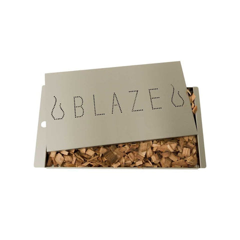 Image of Blaze Stainless Steel Smoker Box Blaze Professional (Extra Large Size) BLZ-XL-PROSMBX