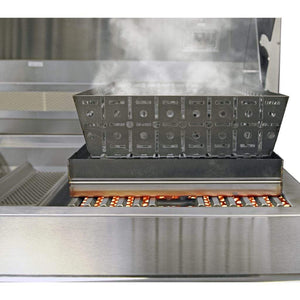 Blaze Stainless Steel Smoker Steamer Insert For Blaze/Professional Gas Grills