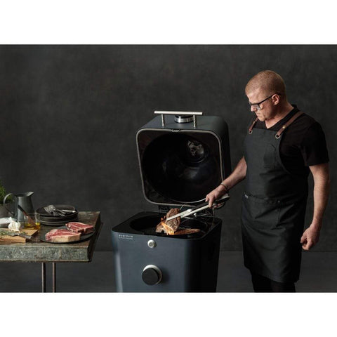 "Everdure 21"" 4K Electric Ignition Charcoal Grill and Smoker/Electric Outdoor Oven"