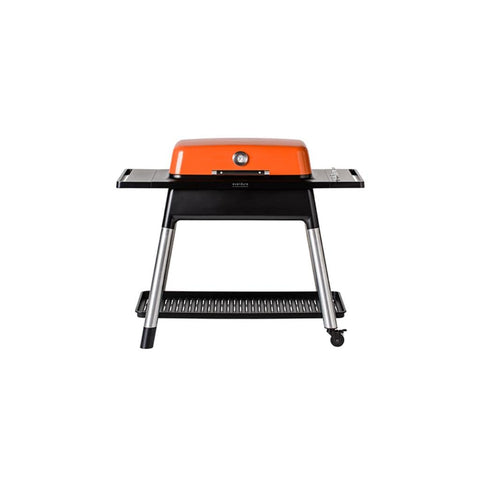 "Image of Everdure 52"" FURNACE™ 3 Burner Gas Grill with Stand Orange HBG3OUS"