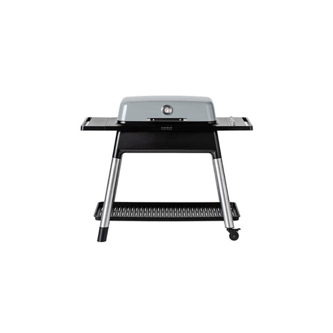 "Image of Everdure 52"" FURNACE™ 3 Burner Gas Grill with Stand Stone HBG3SUS"