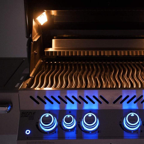 "Image of Napoleon 33"" Prestige PRO 500 Built-in Gas Grill with Infrared Rear Burner"