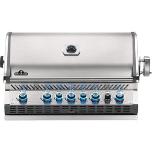 "Napoleon 42"" Prestige PRO 665 Built-in Gas Grill with Infrared Rear Burner"