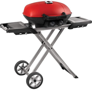 "Napoleon 44"" TravelQ 285X Portable Freestanding Propane Gas Grill With Griddle TQ285X-RD-1-A"