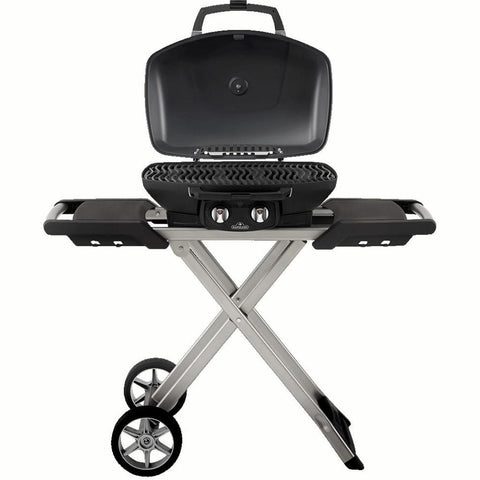 "Image of Napoleon 44"" TravelQ 285X Portable Freestanding Propane Gas Grill With Griddle TQ285X-RD-1-A"