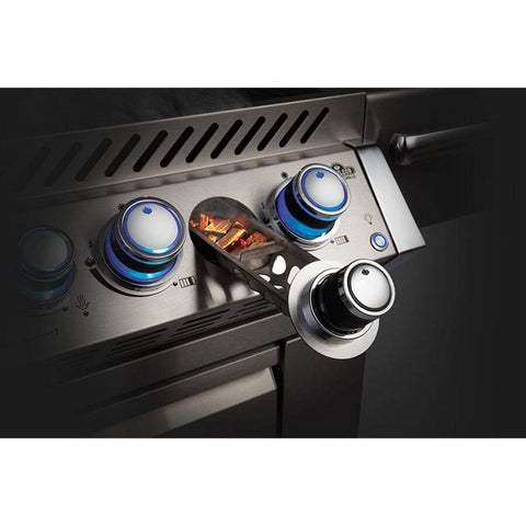 "Image of Napoleon 56"" Prestige PRO 825 Built-in Gas Grill with Infrared Rear Burner and Infrared Sear Burners"