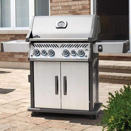 "Napoleon 61"" Rogue SE 525 RSIB Freestanding Gas Grill with Infrared Rear & Side Burners"
