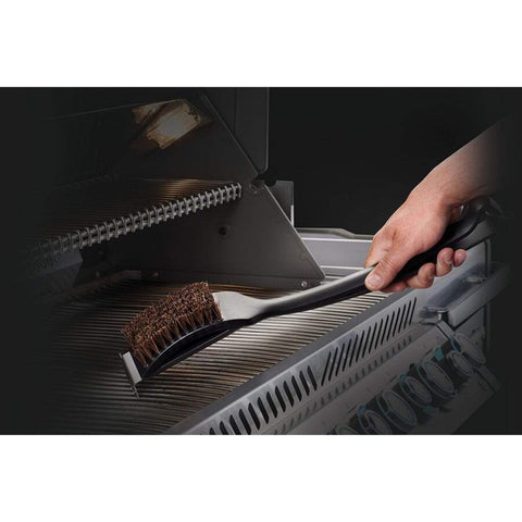 Image of Napoleon 62053 Natural Fiber Grill Brush With Grid Scraper 62053