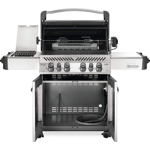 "Image of Napoleon 66"" Prestige 500 RSIB Freestanding Gas Grill with Infrared Rear Burner & Infrared Side Burner"