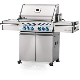 "Napoleon 67"" Prestige PRO 500 Freestanding Gas Grill with Infrared Rear Burner and Infrared Side Burners Natural Gas / Stainless Steel PRO500RSIBNSS-3"