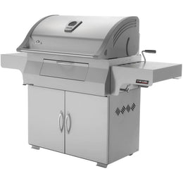 "Napoleon 68"" Professional Freestanding Charcoal Grill PRO605CSS"