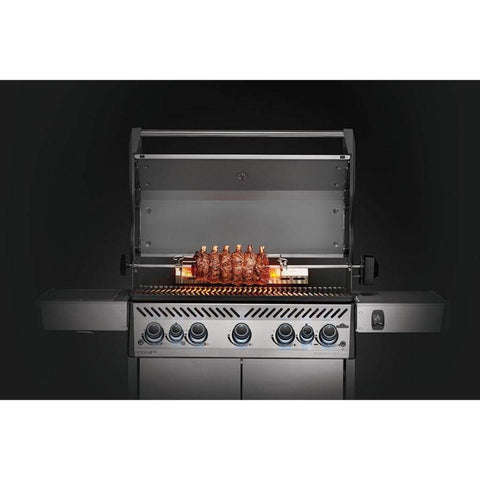 Image of Napoleon 69911 Rogue Series Grill Heavy-Duty Rotisserie Kit