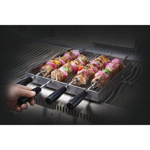 Napoleon 70014 PRO Series Stainless Steel Rotating Skewer Rack 70014