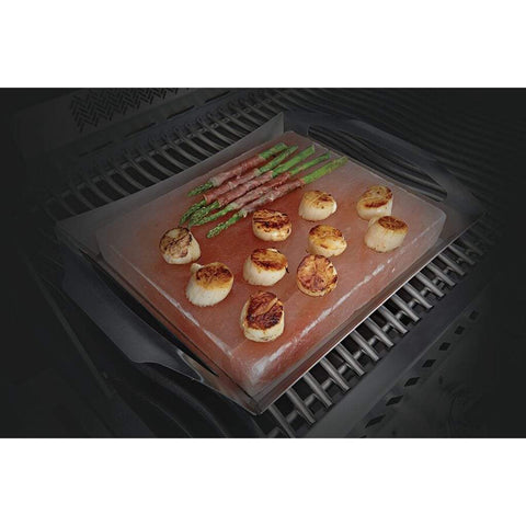 Image of Napoleon 70025 Himalayan Salt Block with PRO Grill Topper