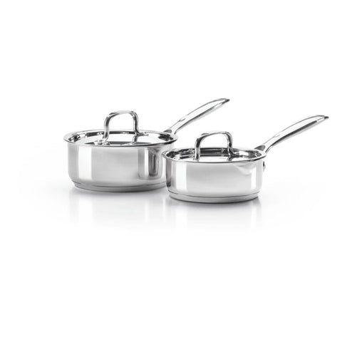 Image of Napoleon 70046 Stainless Steel 2-Piece Sauce Pan Set 70046