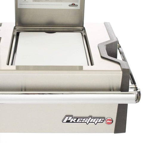 "Image of Napoleon 77"" Prestige PRO 665 Freestanding Gas Grill with Infrared Rear Burner and Infrared Side Burners"