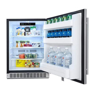 "Napoleon Oasis 24"" Outdoor Rated Stainless Steel Fridge NFR055OUSS"