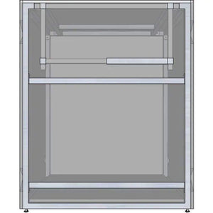 "RTF Systems Universal 30"" Ready To Finish BBQ Island Appliance And Storage Cabinet RTF30-29-AC"