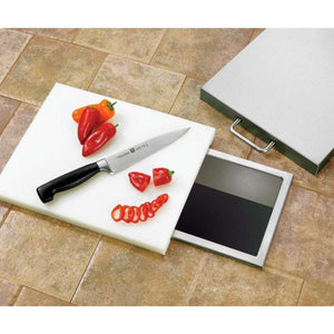 "Summerset 14""x 10"" Trash Chute & Cutting Board with Lid SSTC-14"