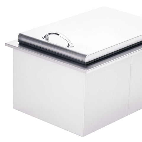 "Image of Summerset 17"" Stainless Steel Drop-In Ice Chest - Small SSIC-17"