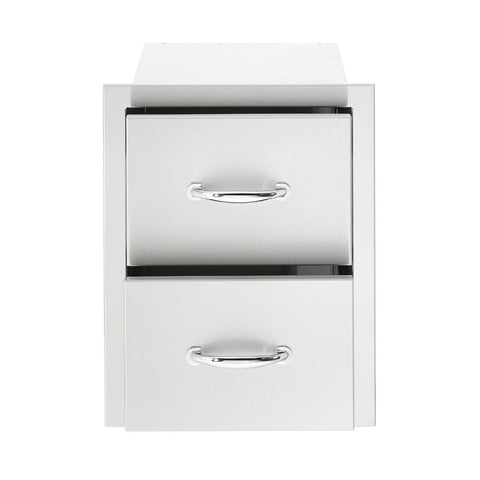 "Image of Summerset 17"" Stainless Steel Flush Mount Single/Double/Triple Access Drawer"