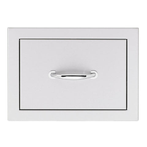 "Image of Summerset 17"" Stainless Steel Flush Mount Single/Double/Triple Access Drawer Single Access Drawer SSDR1-17"