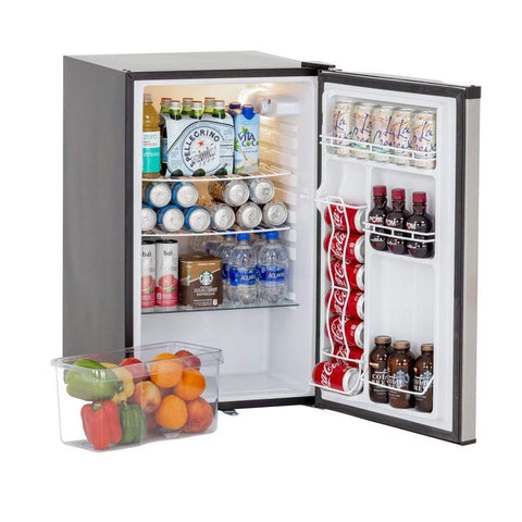 "Image of Summerset 21"" 4.5 Cu. Ft. Compact Refrigerator with Reversible Door SSRFR-21S"