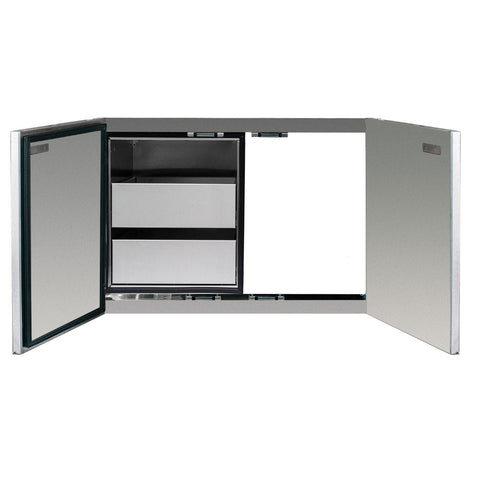 "Image of Summerset 36"" Stainless Steel 2-Drawer Dry Storage Pantry & Access Door Combo SSDP-36AC"