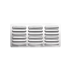 "Summerset 6"" x 12"" Stainless Steel Island Vent Panel with Masonry Frame Return SSIV-12M"