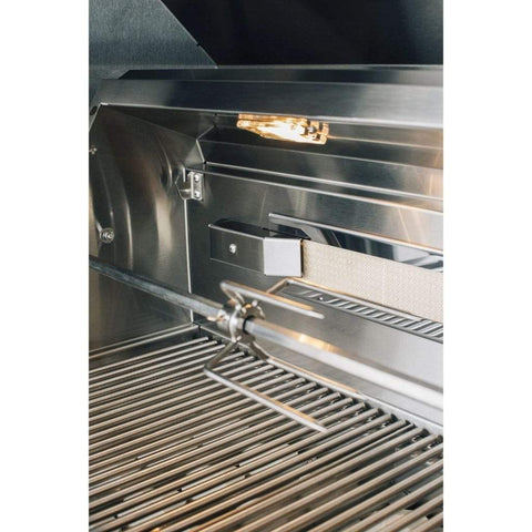 "Image of Summerset Alturi 36"" 3-Burner Built-In Gas Grill With Stainless Steel Burners & Rotisserie"