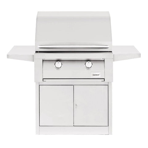 "Image of Summerset Builder 30"" 2-Burner Freestanding Natural Gas Grill SBG30-NG + SBG30-PED"