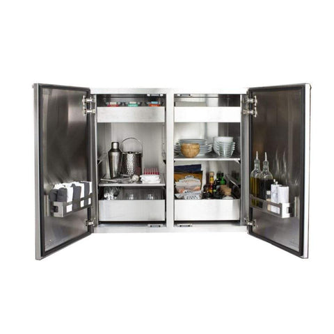 "Image of Summerset Madera 40"" x 34"" Vertical Double Dry Storage Pantry"