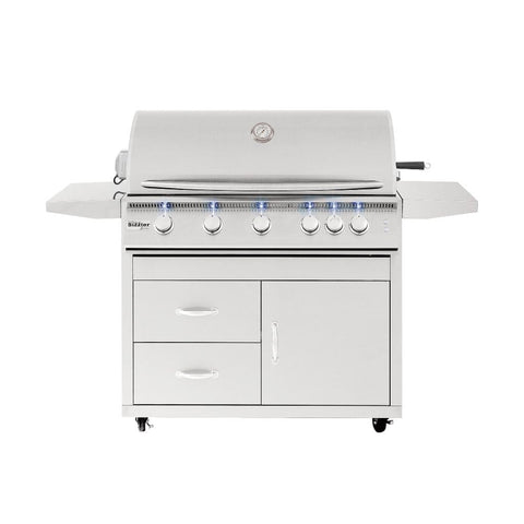 "Image of Summerset Sizzler Pro 40"" Freestanding Gas Grill"