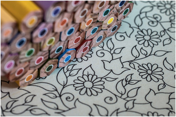 Henna Users: Meet Adult Coloring Books