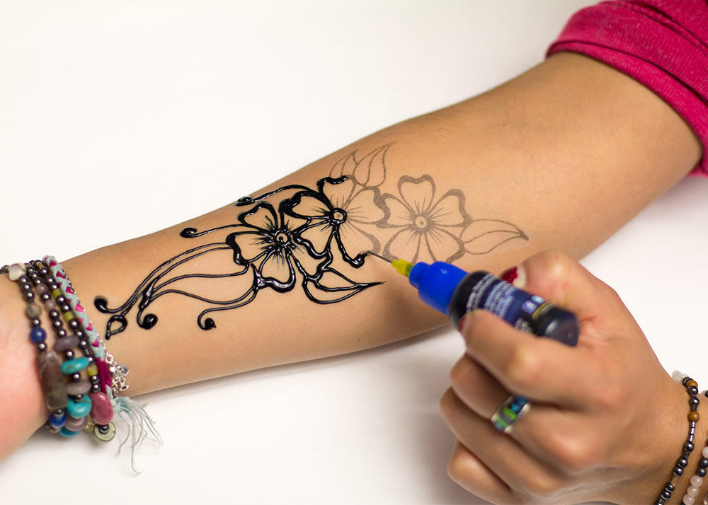Henna Designs – The Fun and Easy Way With Stencils