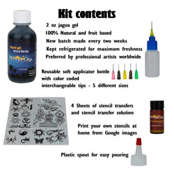 2 oz Henna City Jagua Gel with Applicator Bottle