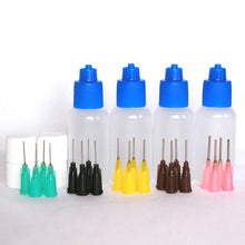 Load image into Gallery viewer, half oz henna applicator bottles set of 4