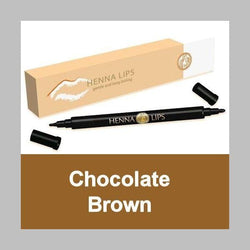 Henna Lip Liner - Chocolate Brown