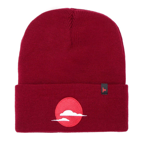 Copy of Tokyo Time Urban Beanie Hat - Maroon