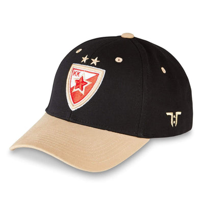 "Tokyo Time ""Crvena Zvezda MTS Belgrade"" Euro League Collab Cap - Black/Gold"