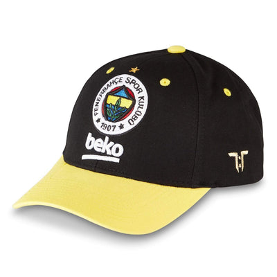 "Tokyo Time ""Fenerbahce Istanbul"" Euro League Collab Cap - Black/Yellow"