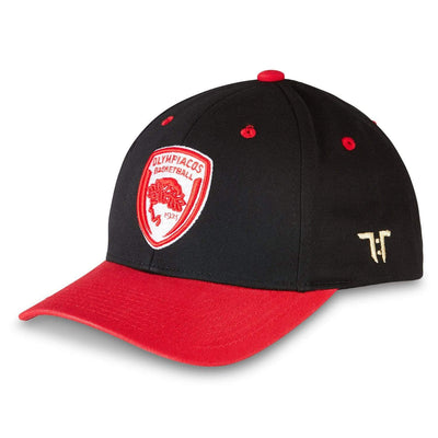 "Tokyo Time ""Olympiacos Piraeus"" Euro League Collab Cap - Black/Red"