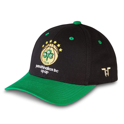 "Tokyo Time ""Panathinaikos Opap Athens"" Euro League Collab Cap - Black/Green"
