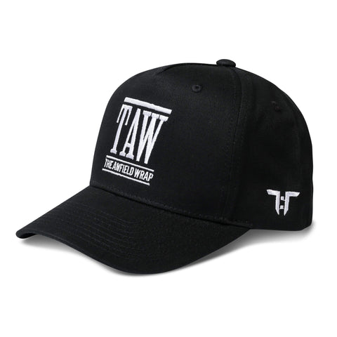Tokyo Time TAW Liverpool Collab Cap - Black/White Adult Snapback Baseball Cap