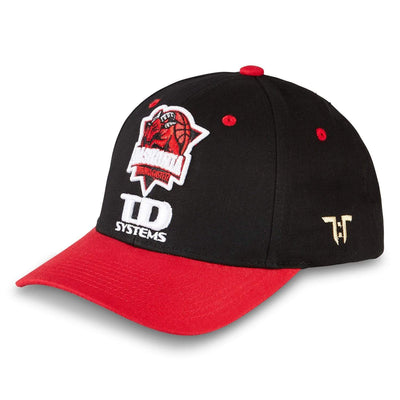 "Tokyo Time ""TD Systems Baskonia Vitoria Gasteiz"" Euro League Collab Cap - Black/Red"
