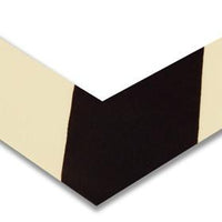"Floor Marking Tape, Solid, L, Angles, 2"" Width, 45VR81, 100 PK"