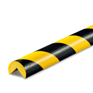 "Foam Guard, Type A, self-adhesive, black/yellow, 16' X 1.7"", 82-0900-5"