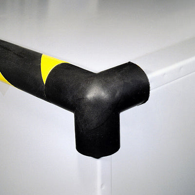 Corner Foam Guard, 3-Directions, self-adhesive, black, 1.9